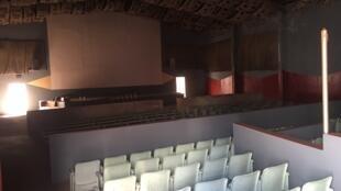 Le Christa, au Sénégal, n'est pas équipé pour diffuser les films en numérique.