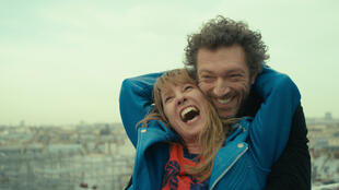 Emmanuelle Bercot and Vincent Cassel in Mon Roi directed by Maïwenn, one of the films competing for Palme d'or at the Cannes Film Festival 2015