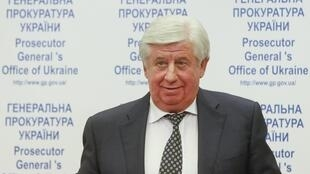Chưởng lý Ukraina Shokine, ngày 02/11/2015, tại Kiev