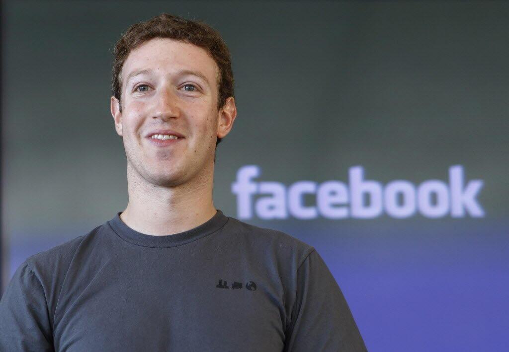 مارک زوکربرگ، بنیانگذار و مدیر شبکه اجتماعی فیس بوک