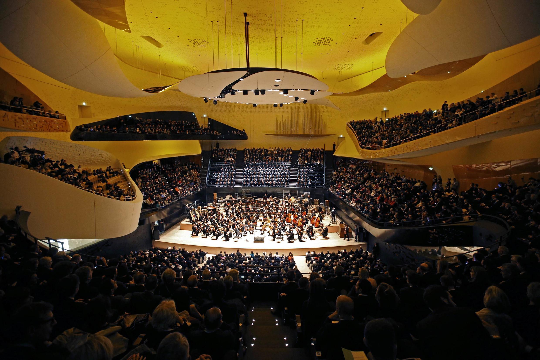 Большой зал Парижской филармонии