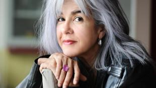 Portrait de la romancière Nadia Galy, à l'occasion de la sortie de son roman «Le cirque de la solitude», paru aux éditions Albin Michel.