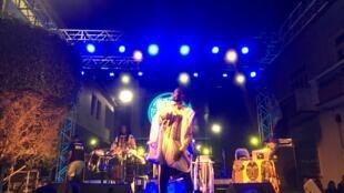 Avec leur énergie, leur son puissant, les Sénégalais de Guiss Guiss Bou Bess ont clairement conquis le public de Praia.