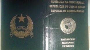 passaporte da Guiné-Bissau