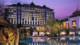 圖為新加坡香格里拉飯店