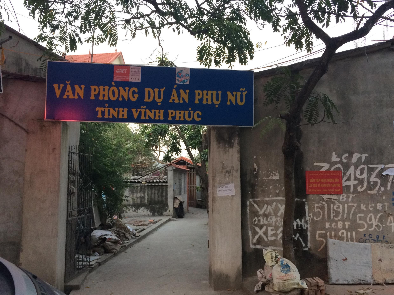 Văn phòng quản lý Dự án Phụ nữ, tỉnh Vĩnh Phúc.