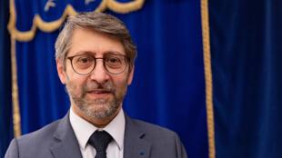 France - Haïm Korsia - grand rabbin - 6 juin 2021 - AFP 000_9BH6WQ