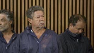 Les frères Castro durant l'audience, le 9 mai 2013.