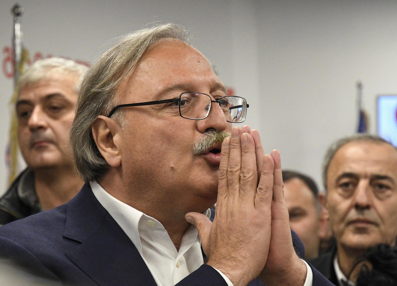 Григол Вашадзе, кандидат в президенты Грузии от «Единого национального движения»