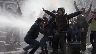 Протесты в Баку 10 марта