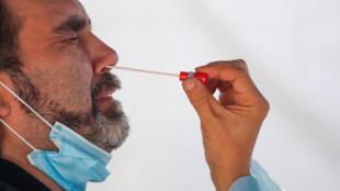 HEALTH-CORONAVIRUS-FRANCE-TESTS