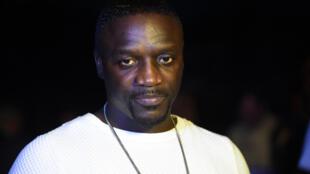 Le chanteur américain d'origine sénégalaise Akon.