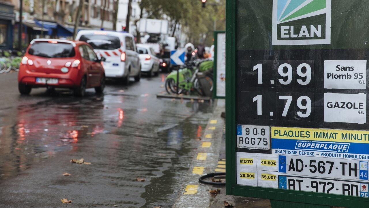 PHOTO Carburants essence - Paris 15 septembre 2021