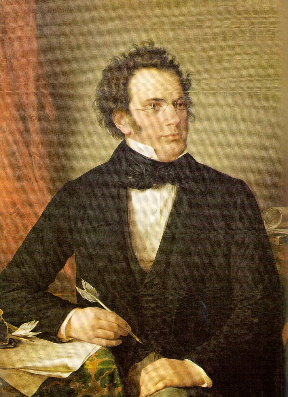 Nhạc sĩ người Áo Franz Schubert (1797-1828)