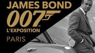 James Bond 007, L'exposition à la Grande Halle de La Villette à Paris jusqu'au 4 septembre 2016.