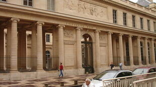 Front of the University Paris-Descartes.