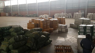 Police in South Africa seized hundreds of fake Covid vaccines in a warehouse, in Germiston, Gauteng, 3 March 2021.