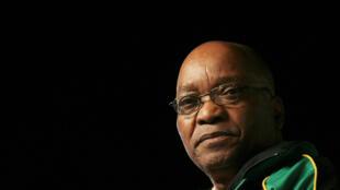El presidente de Sudáfrica Jacob Zuma.