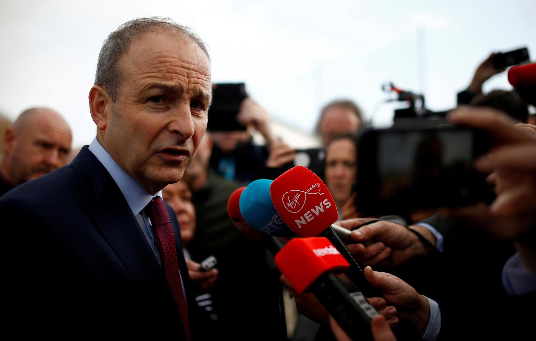 Micheál Martin, futur Premier ministre irlandais.