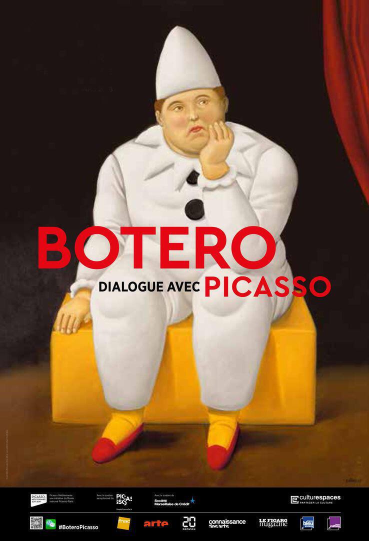 """La exposición """"Botero, diálogo con Picasso"""" estará abierta hasta el 11 de marzo en el Hotel de Caumont de Aix-en-Provence."""