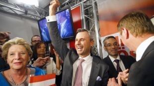 Norbert Hofer, le ministre autrichien des Transports, était le candidat du FPÖ lors de la dernière présidentielle.