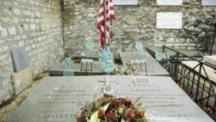 Могила генерала La Fayette