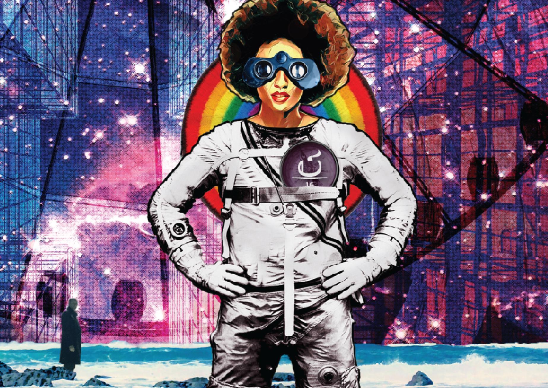Capa do fanzine Café Espacial.