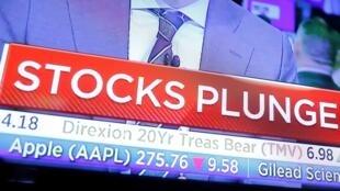 Новый обвал фондовых рынков и нефтяных цен