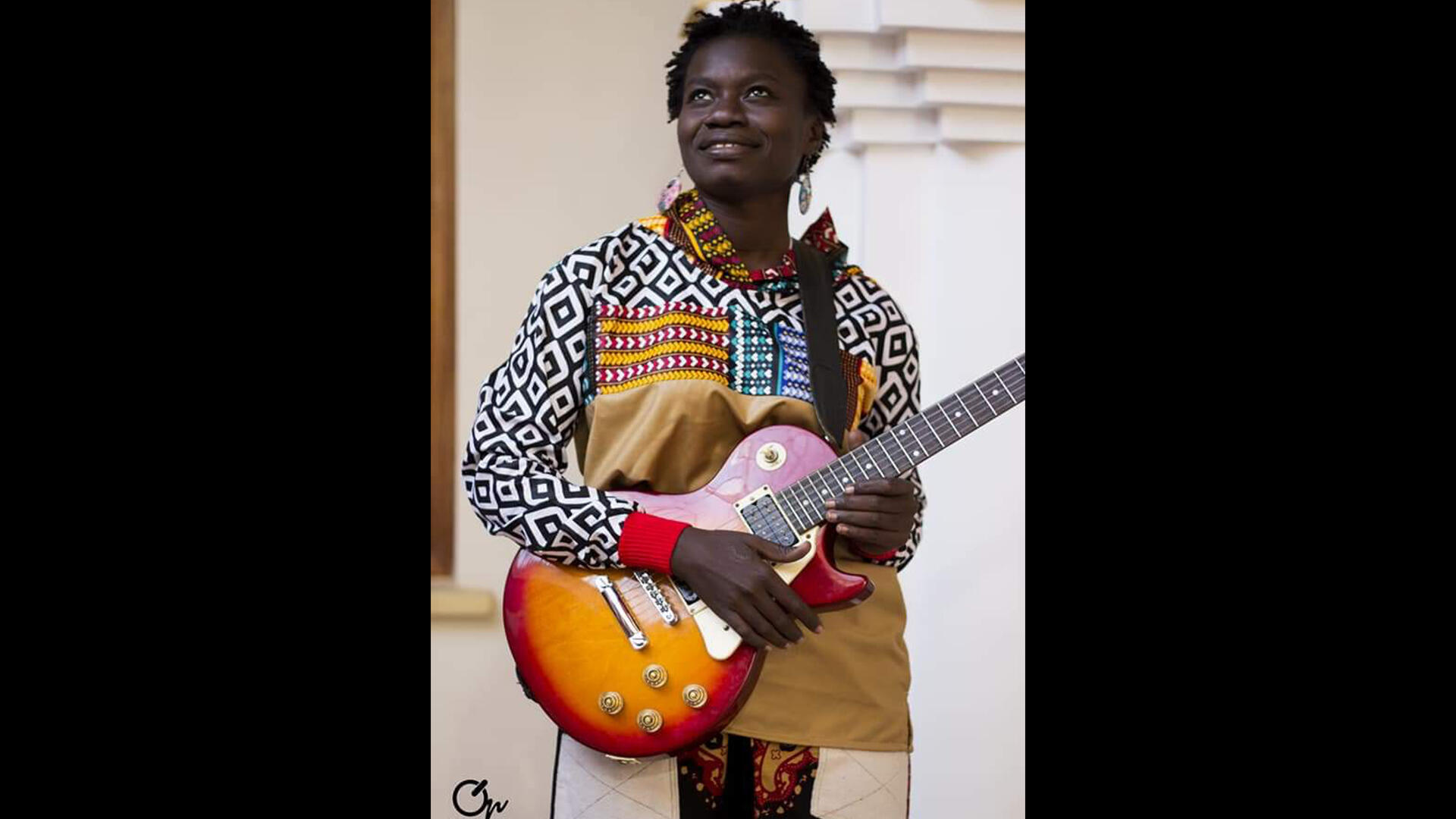 La musicienne Oumy Sy.