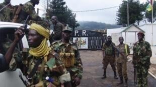 Centrafrique, des hommes en armes de la Seleka.