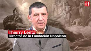 Thierry Lentz, director de la Fundación Napoleón