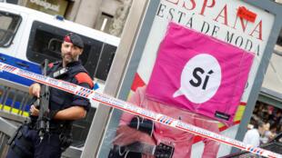 西班牙加泰罗尼亚地区10月1号举行独立公投