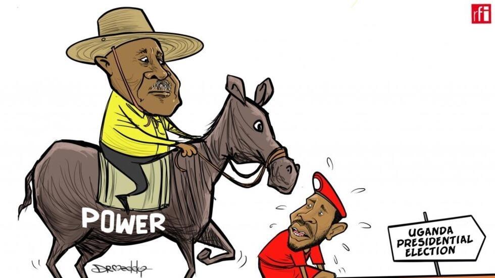 Uganda: Kalubale ya dabaibaye zaben shugaban kasa. Bobi Wine na kalubalantar Yoweri Museveni. (14/01/2021)