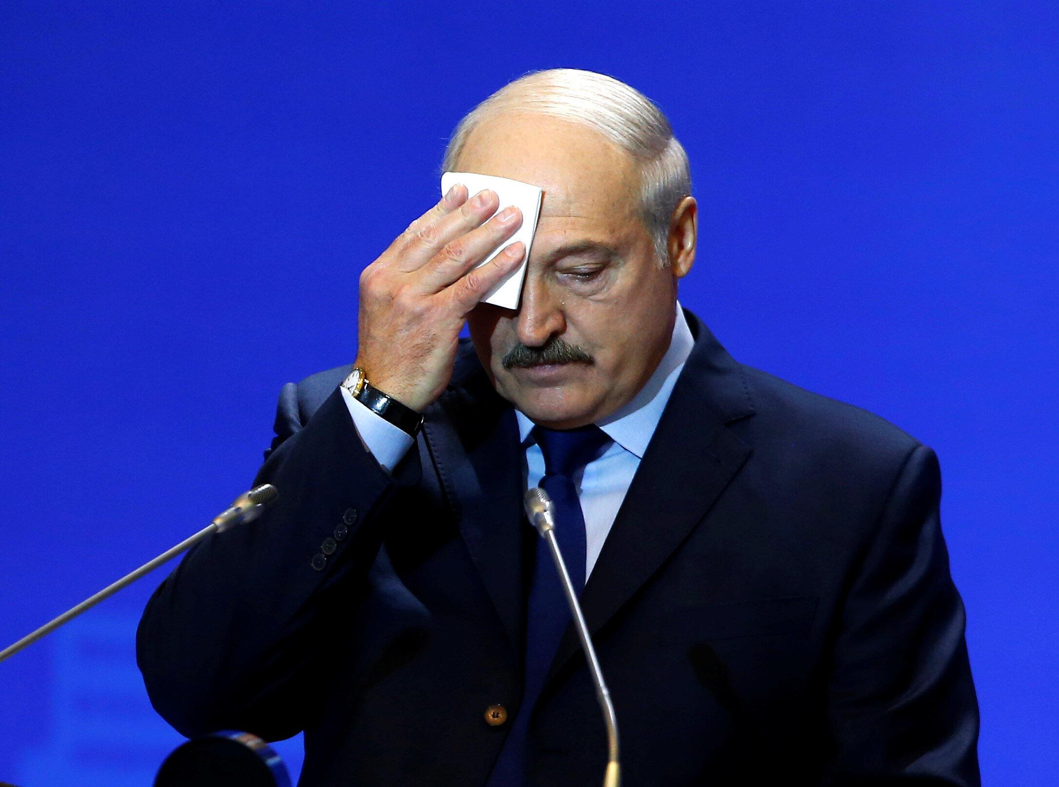 Александр Лукашенко на форуме «Восточная Европа: впоисках безопасности для всех», Минск, 24 мая 2018.