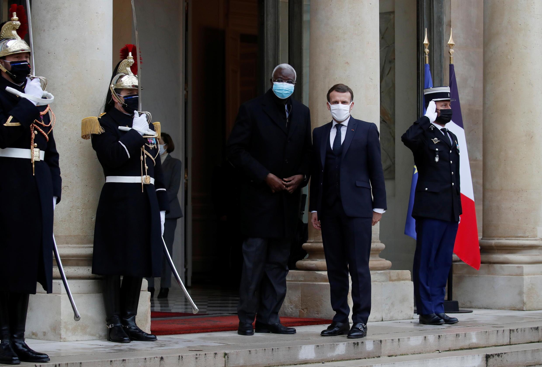 French President hosts Mali's interim president Bah N'Daw_Reuters_Gonzalo Fuentes_27 Jan 2021