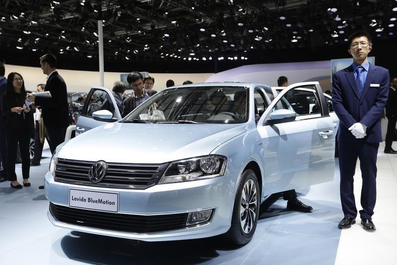 德國大眾汽車在中國資料圖片