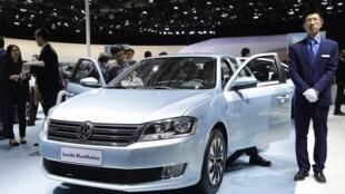 德国大众汽车在中国资料图片