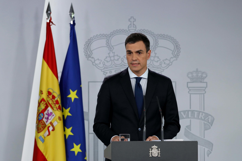 Le chef du gouvernement espagnol Pedro Sanchez le 6 juin 2018.