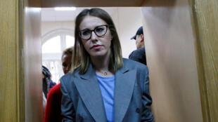 """Ксения Собчак назвала себя кандидатом """"против всех"""""""
