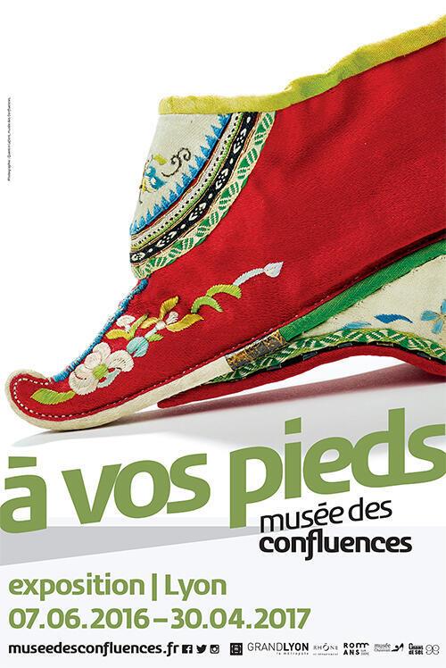 «A vos pieds», au musée des Confluences à Lyon, du 7 juin 2016 au 30 avril 2017.
