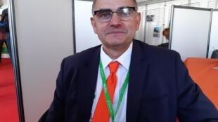 Jean-Pierre Royannez, président de la chambre d'agriculture de la Drôme.