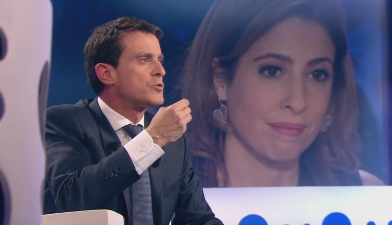 Манюэль Вальс в эфире France 2 «On n'est pas couché».