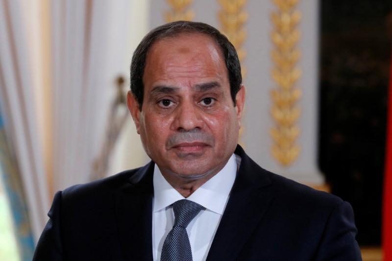 Shugaban kasar Masar Abdel Fattah el-Sisi.