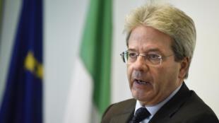 Ministan Waje na kasar Italiya Paolo Gentiloni
