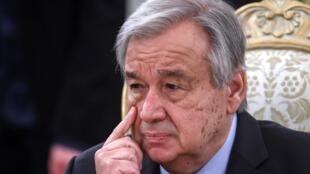 Sakatare Janar na MDD Antonio Guterres