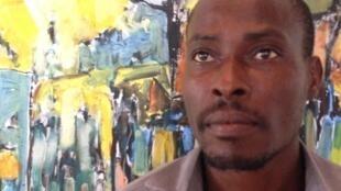 O pintor são-tomense Olavo Amado