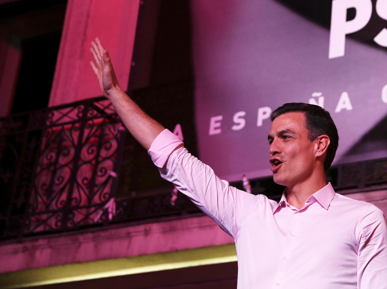 Pedro Sanchez, líder do PSOE.