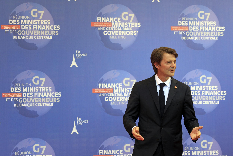 Министр экономики и финансов Франции Франсуа Баруэн