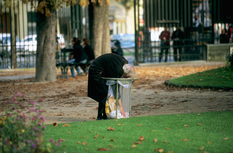 Actualmente un 14% de la población francesa vive bajo el umbral de la pobreza.