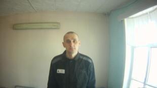 Ảnh chụp tù nhân chính trị Oleg Sentsov do văn phòng Cao ủy Nhân quyền tại Nga công bố hôm 09/08/2018.